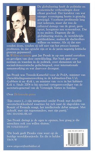 Jan Pronk Willens En Wetens